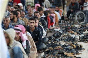 """Ninety percent of the """"refugees"""" are men. All of them are Muslim."""