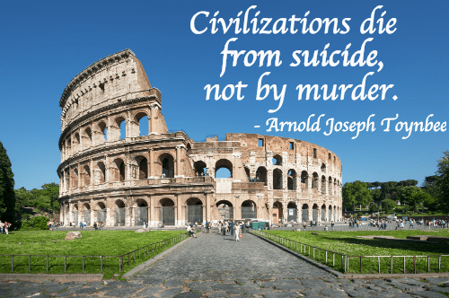 Civilization suicide
